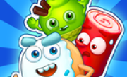 'Сахарные Герои - три в ряд!' - Сахарные Герои приветствуют вас в нашей новой потрясающей игре ʺтри в рядʺ! Веселые персонажи станут вашими лучшими друзьями в мгновение ока!