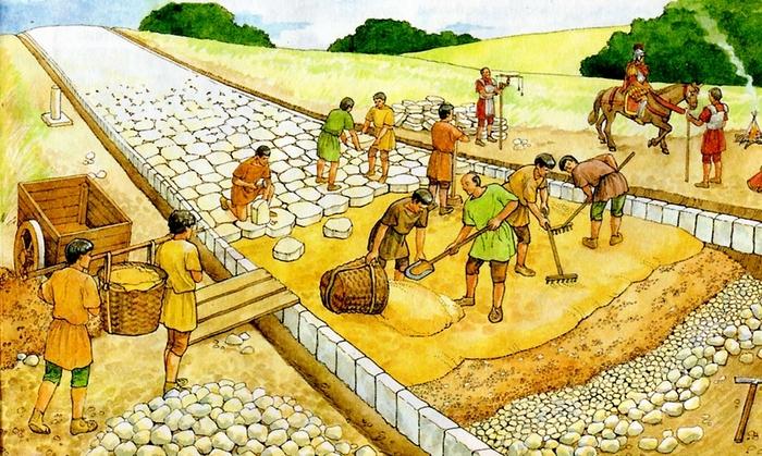 Как строились римские дороги Лига историков, Древний Рим, римские дороги, длиннопост